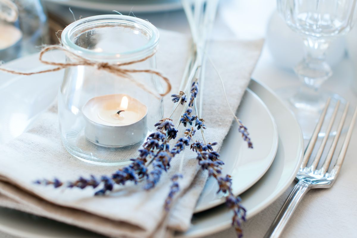 Table setting for private dining